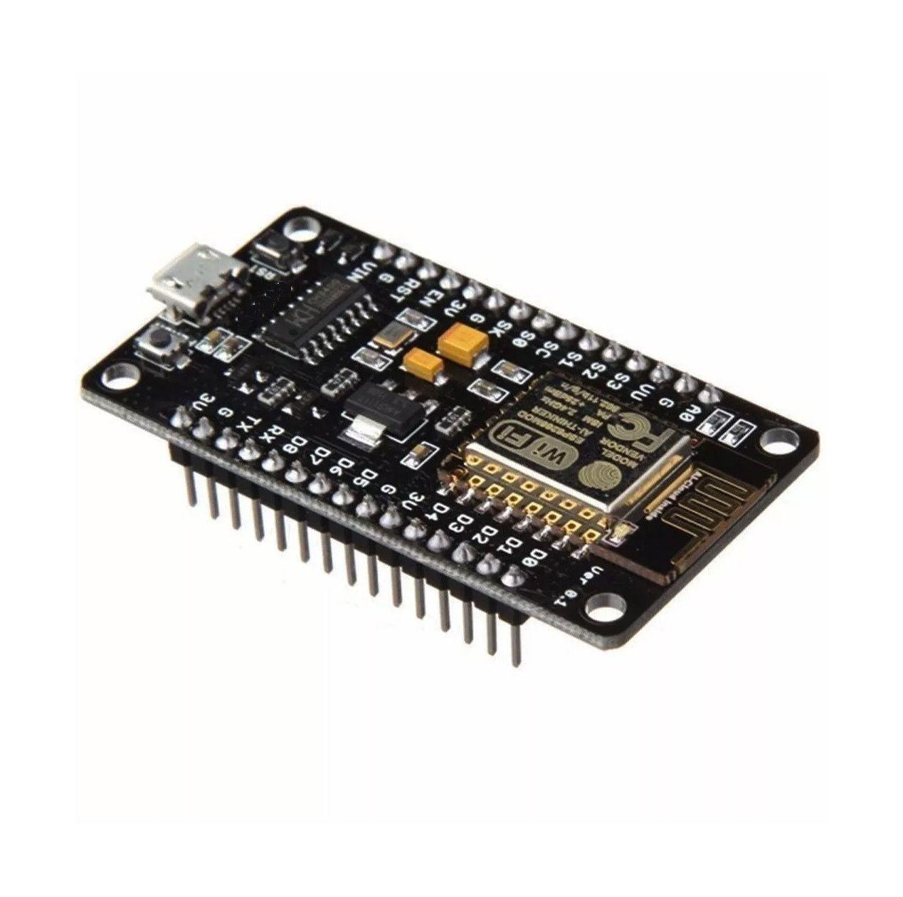 5x Placa ESP-12 Nodemcu V3 Wifi 802.11 B/g/n Esp8266 Esp 12