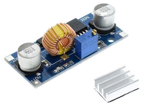 5x Regulador de Tensão XL4015 5A Step Down - Buck Conversor DC DC