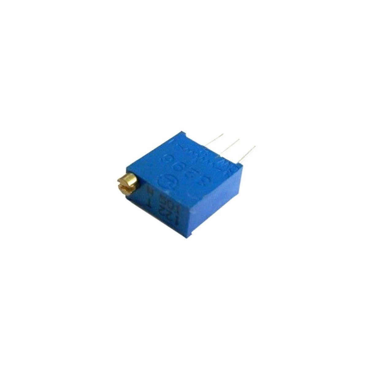 5x Trimpot / Potenciômetro Multivoltas 10K - Horizontal