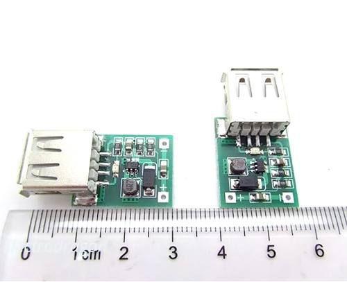 5x USB Conversor DC DC 5V Regulador de Tensão Step UP