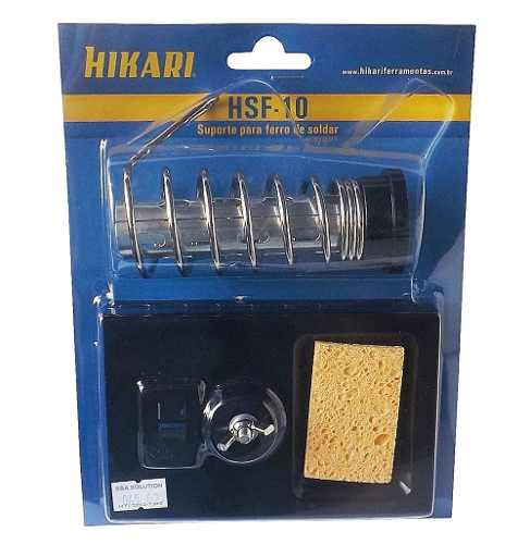 Suporte para Ferro de Soldar Hikari HSF-10 c/ Esponja