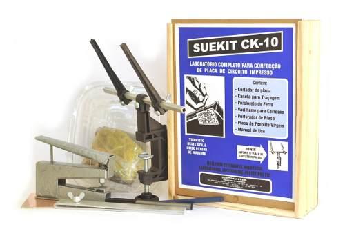 Kit para Fazer Placas de Circuito Impresso - Suekit CK-10
