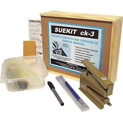 Kit p/ Confeccionar Placa de Circuito Impresso Suekit CK-3