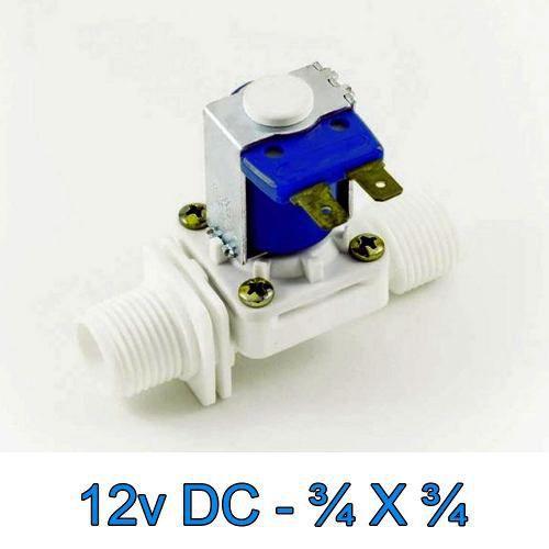 Válvula Solenoide Normalmente Fechado 12v DC 180° (3/4 X 3/4) VA 04