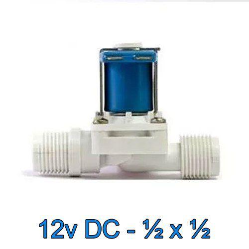Válvula Solenoide Normalmente Fechado 12v DC 180° (1/2 X 1/2) VA 03