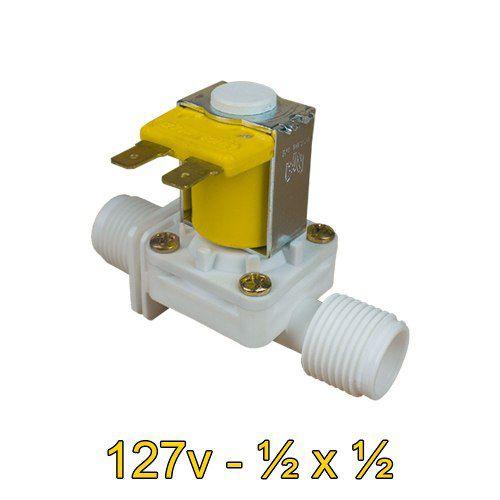 Válvula Solenoide 127v AC 180° (1/2 X 1/2) VA 03