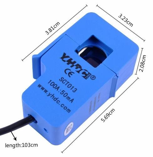 Sensor de Corrente Não Invasivo 100A SCT-013