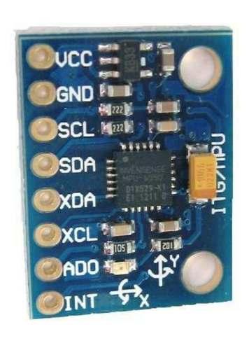 Acelerômetro e Giroscópio 3 Eixos MPU-6050 GY-521 MPU 6050 GY521 MPU6050