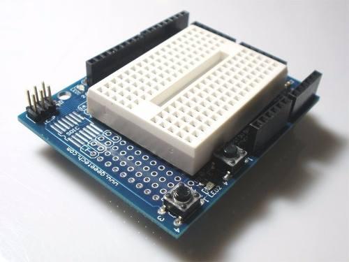 Proto Shield com Protoboard 170 compatível com Arduino Uno