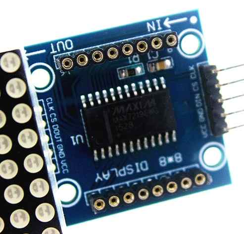 Modulo Display Matriz de Led 8x32 com Chip Max7219