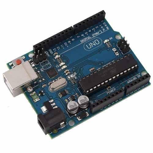Placa Uno R3 DIP Atmega328 Sem Cabo Usb compatível para Arduino