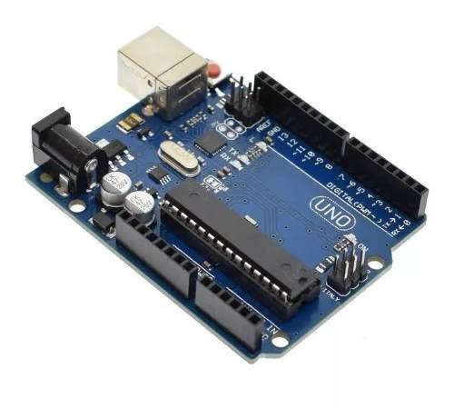 Placa Uno R3 DIP Atmega328 Sem Cabo Usb compatível com Arduino