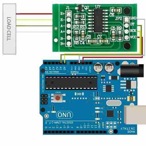 Modulo Hx711 ADC 24 Bits Célula de Carga / Peso