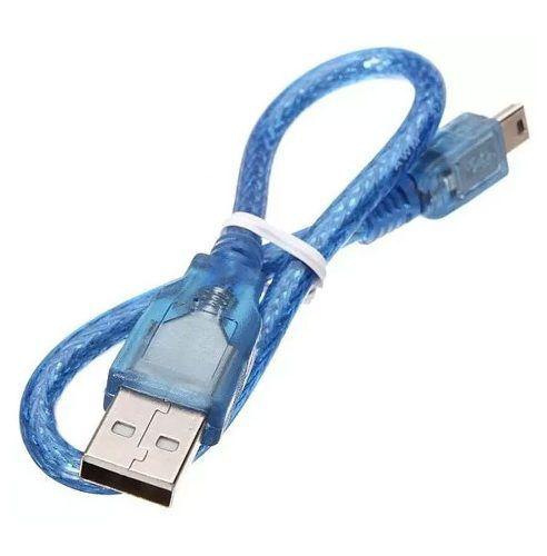 Cabo USB Tipo Mini B para Arduino Nano