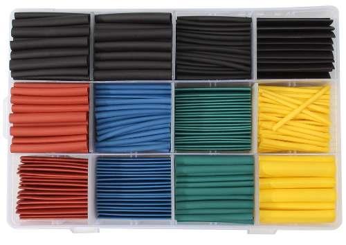 Espaguete Isolante / Tubo Termo Retrátil 530 Peças + Caixa