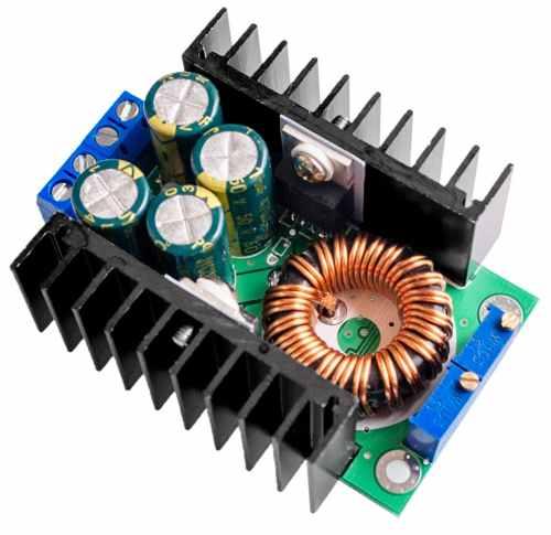 Regulador / Conversor de Tensão e Corrente DC Step Down 1.5v a 35v 300W 9A