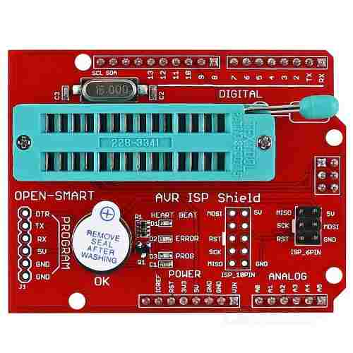 Shield AVR ISP Programador Bootloader