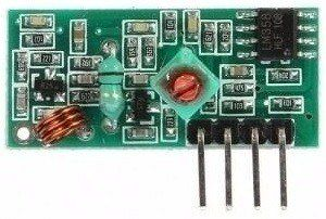 Kit Módulo RF Transmissor e Receptor 433mhz AM