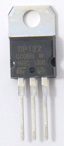 3x Transistor TIP122 NPN 5A Amplificador/Chaveamento