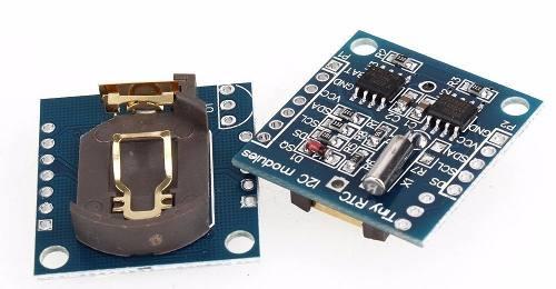 Módulo Relógio RTC DS1307 + AT24C32 I2C Sem Bateria