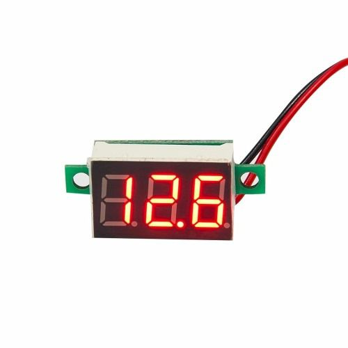 Mini Voltímetro Digital de 0v a 100v