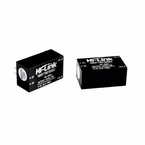 Mini Fonte Hi-link HLK-PM01 100~240VAC para 5V DC 600mA 3W