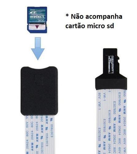 Cabo Extensor de 25cm para Cartão Micro SD Raspberry Pi