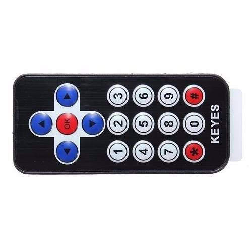 Kit Infravermelho: Controle Remoto, Receptor, LED Infravermelho