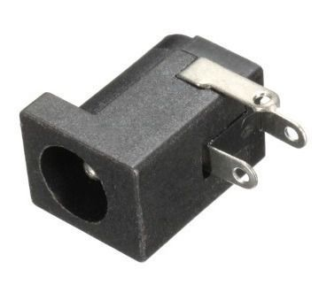 5x Conector/Jack P4 2.1mm Fêmea J4 3T | Fonte Power DC compatível para Arduino