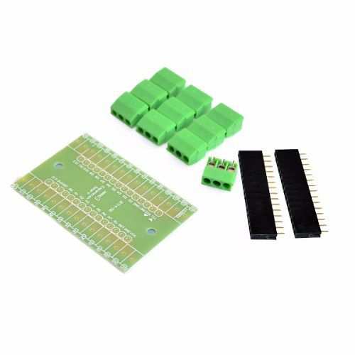 Placa Borne Terminal Adaptador para Arduino Nano