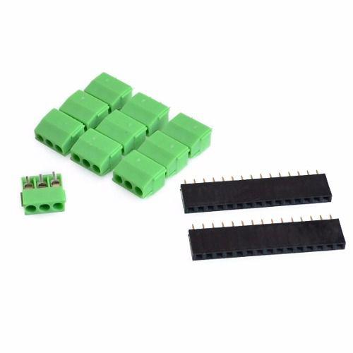 Placa Borne Terminal Adaptador Compatível com Arduino Nano