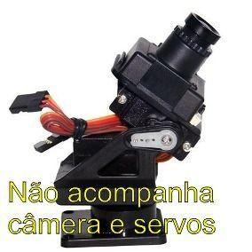 Pan Tilt FPV de Câmera   Gimbal Drone - Sem Servos