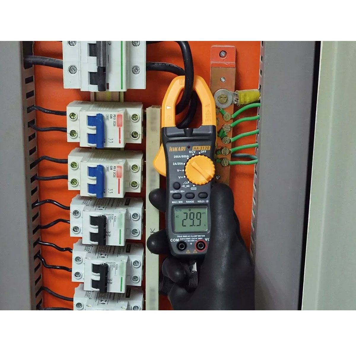 Alicate Amperímetro 600A True Rms Hikari HA-3120