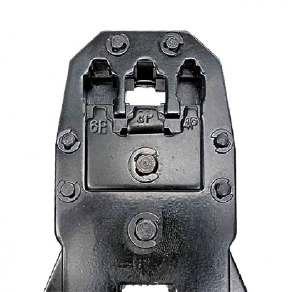Alicate de Crimpar Conectores Rj11 Rj12 e Rj45 Hikari Hk-301
