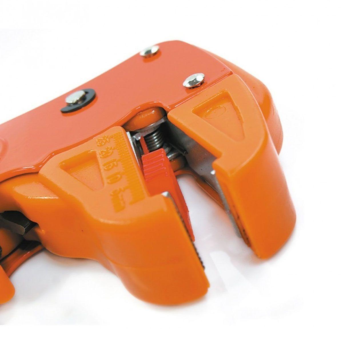 Alicate Decapador Cortador de Fios 0,2 a 6mm² HK-310 - Hikari
