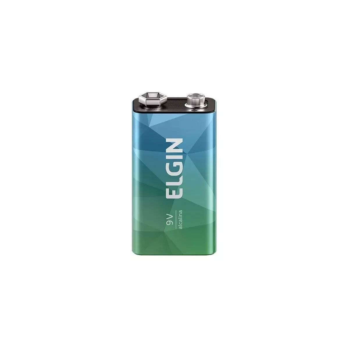 Bateria 9v Alcalina - Elgin