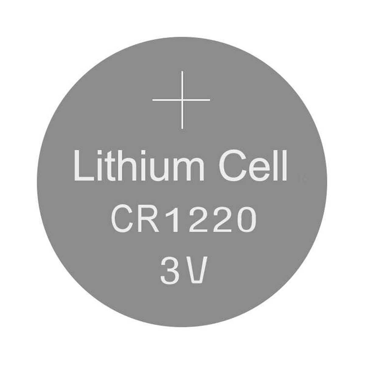 Bateria CR1220 3V de Lithium / Pilha CR1220