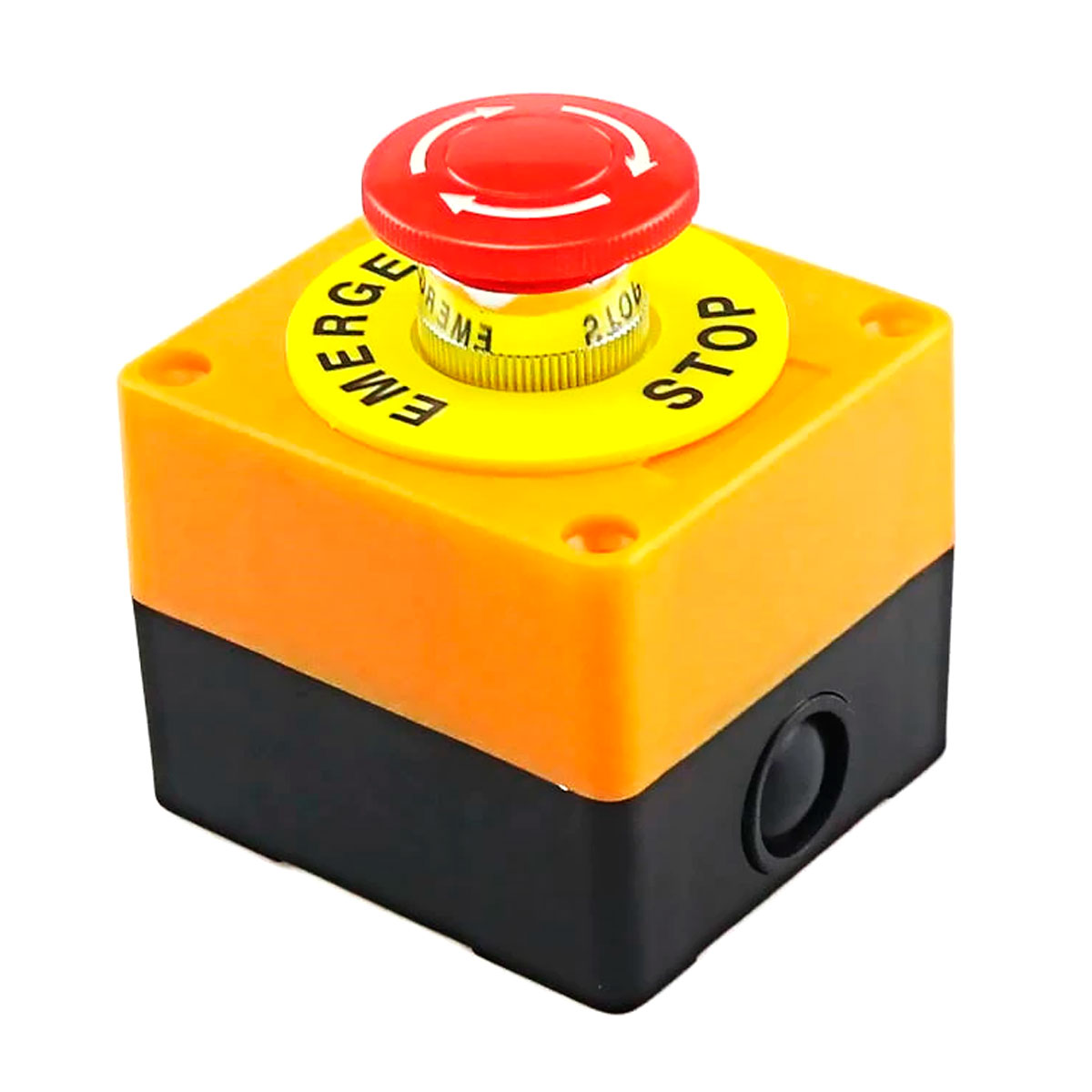 Botão de Emergência / Botoeira de Comando Plástica NA ou NF