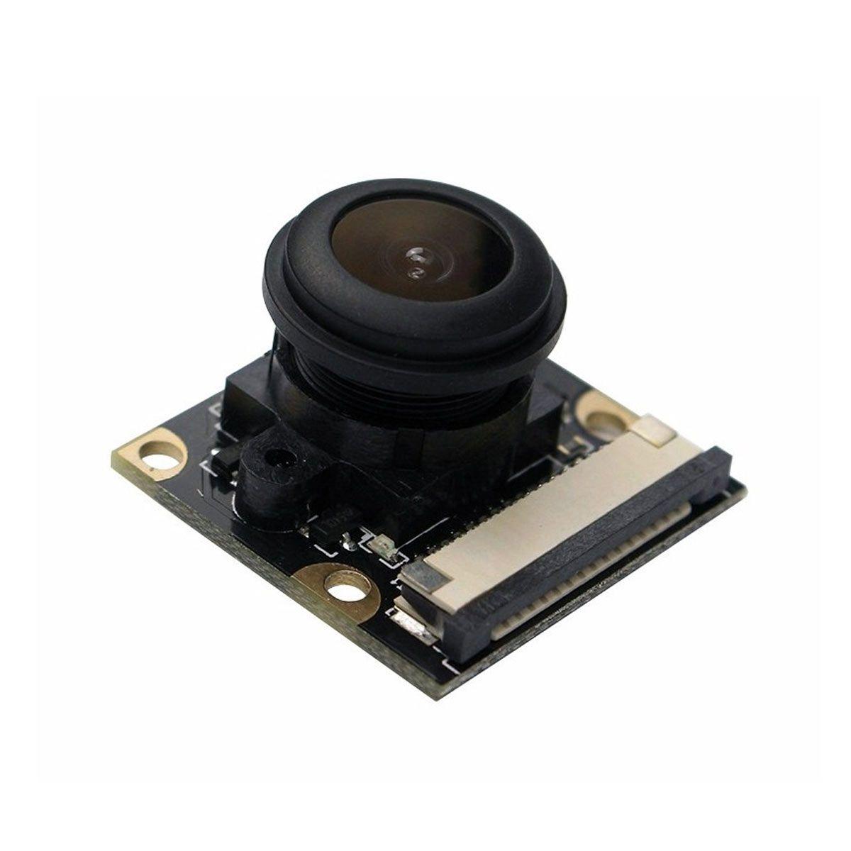 Câmera 1080p 5MP para Raspberry Pi com 150 Graus de ângulo de Visão