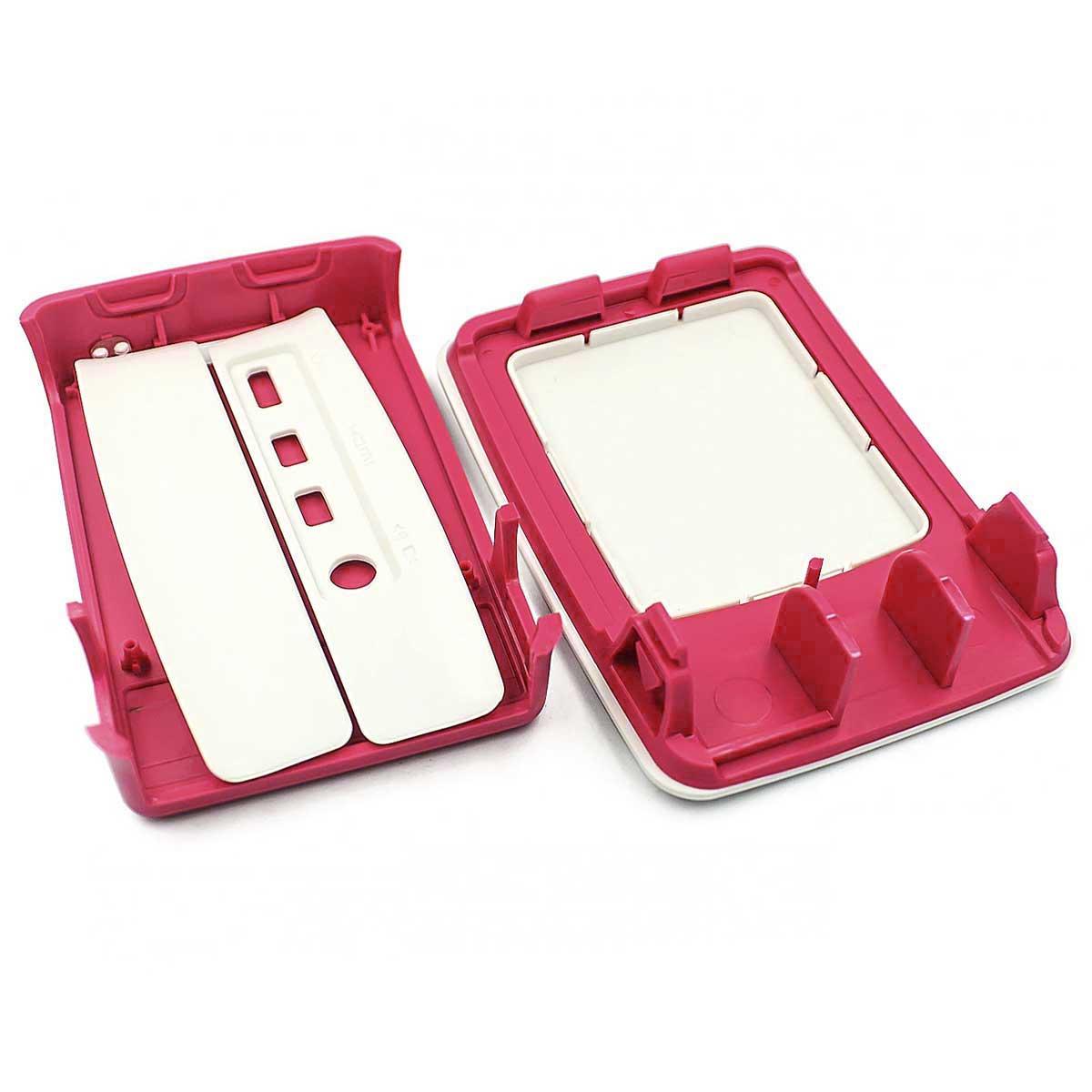 Case para Raspberry Pi 4 em Plástico Resistente