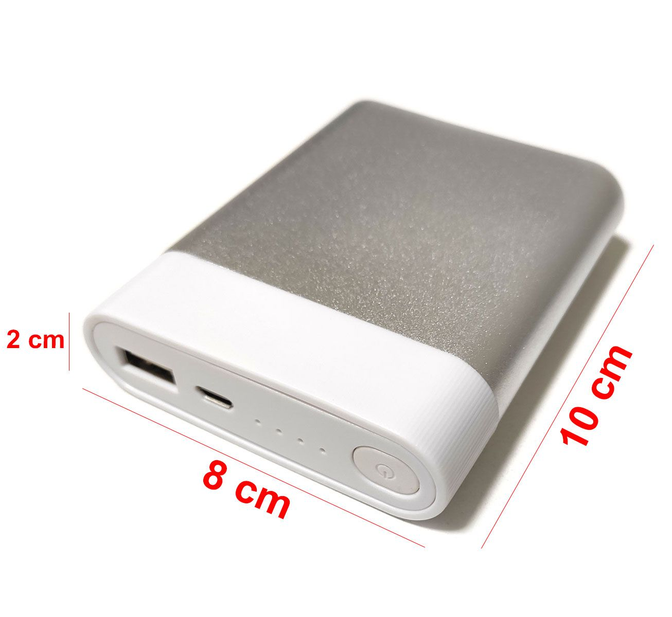 Case Power Bank USB para 2 ou 4 Baterias 18650 - Não Acompanha Baterias