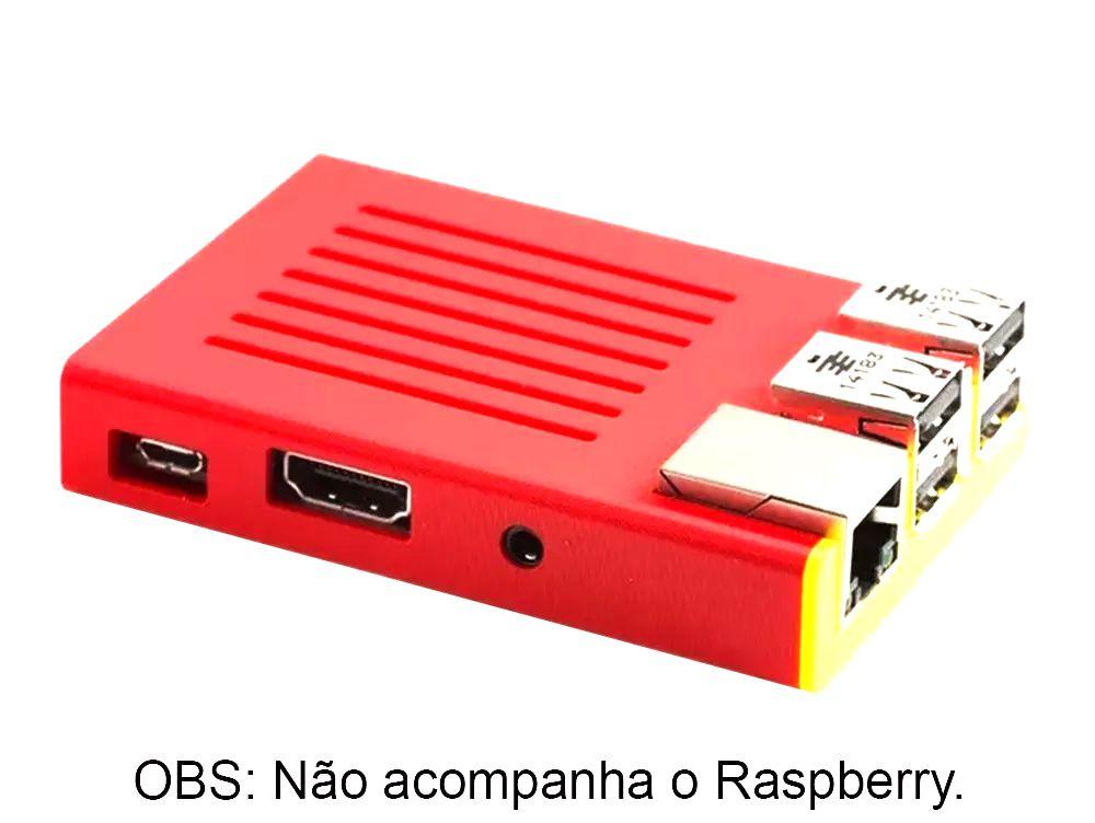 Case Slim para Raspberry Pi 3 Impressa em 3D