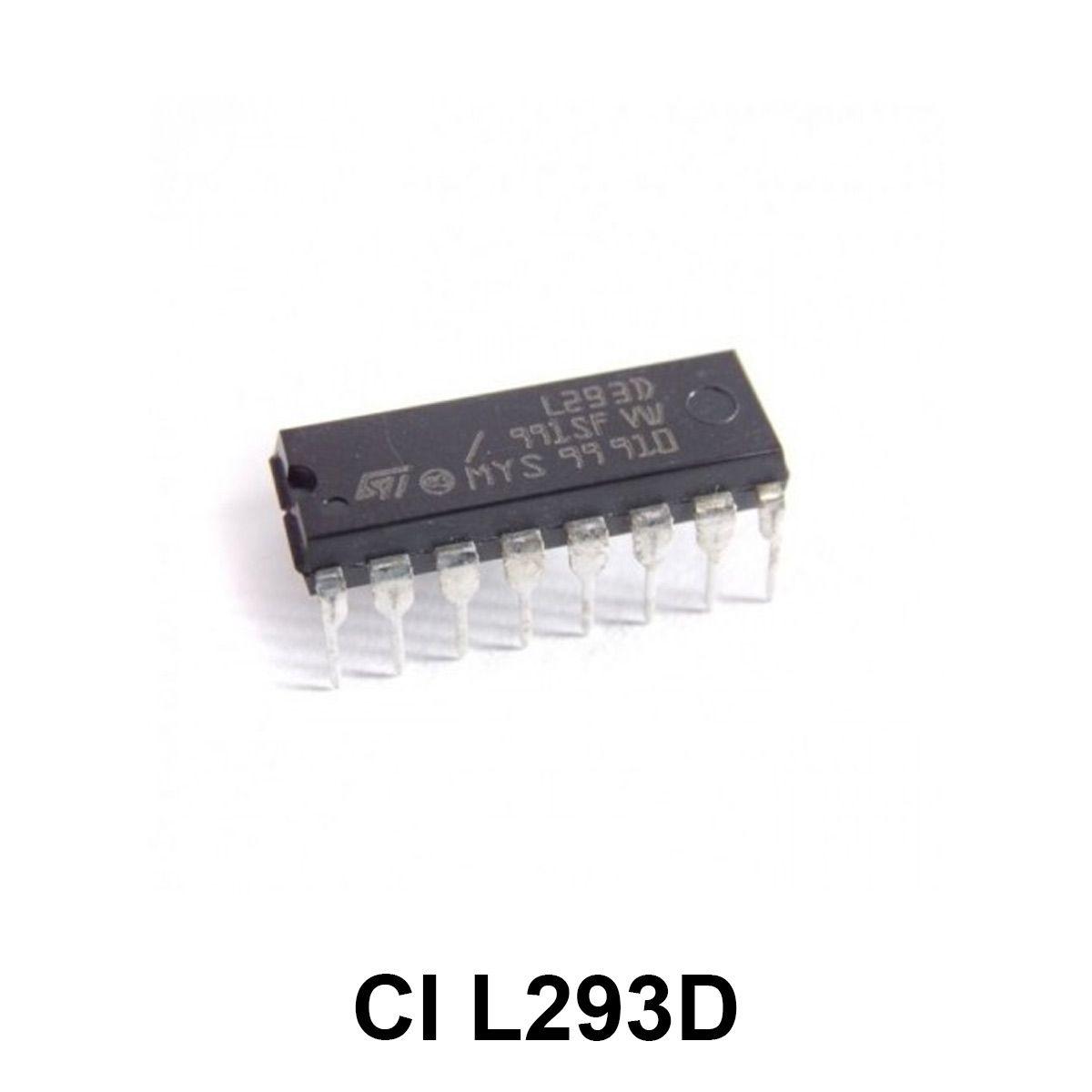 Circuito Integrado - CI L293D Ponte H Dupla
