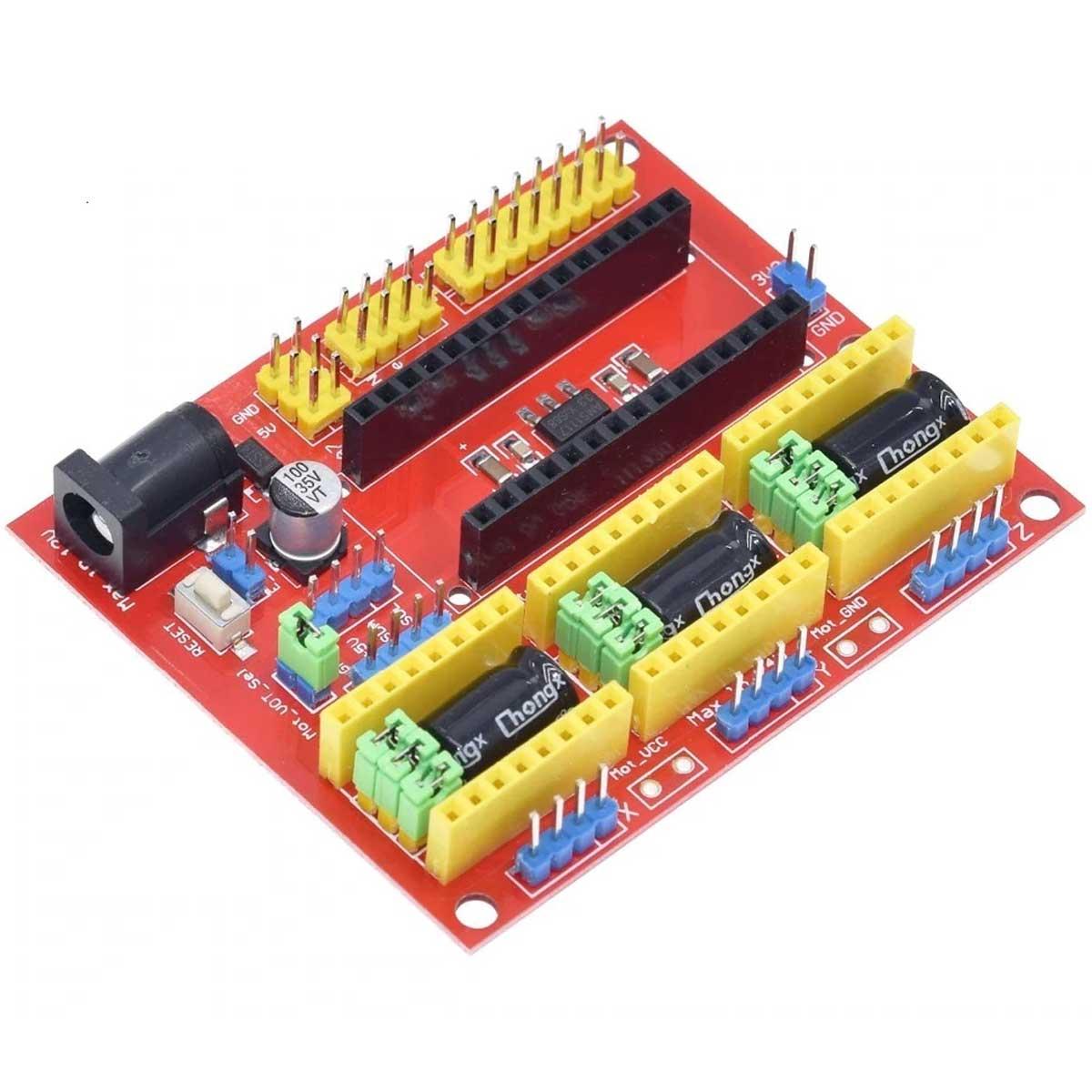 CNC Shield V4 para placas compatíveis com Arduino Nano