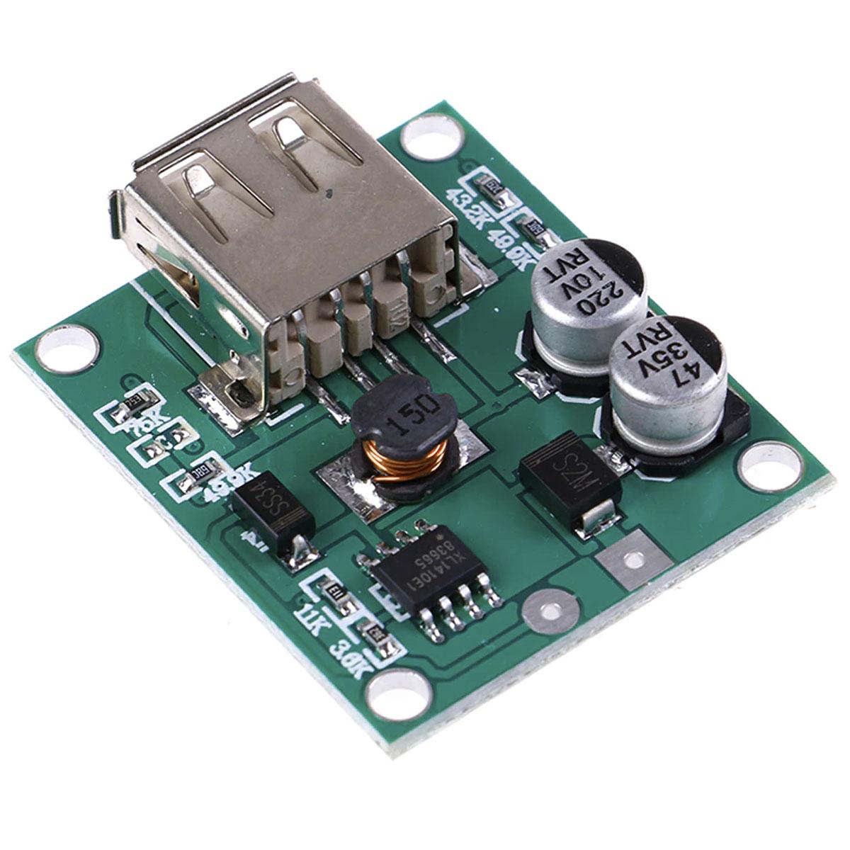 Controlador Painel Solar Saída USB 5v 2a p/ Carregar Celular