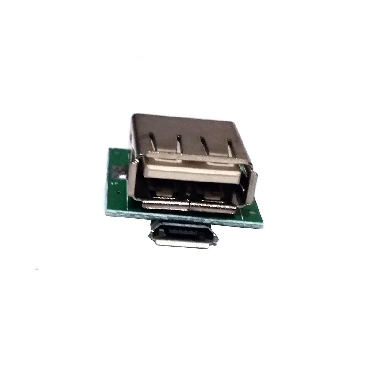 Conversor DC DC Step Up USB 5v Bateria de Litium com Carregador Embutido estilo Power Bank