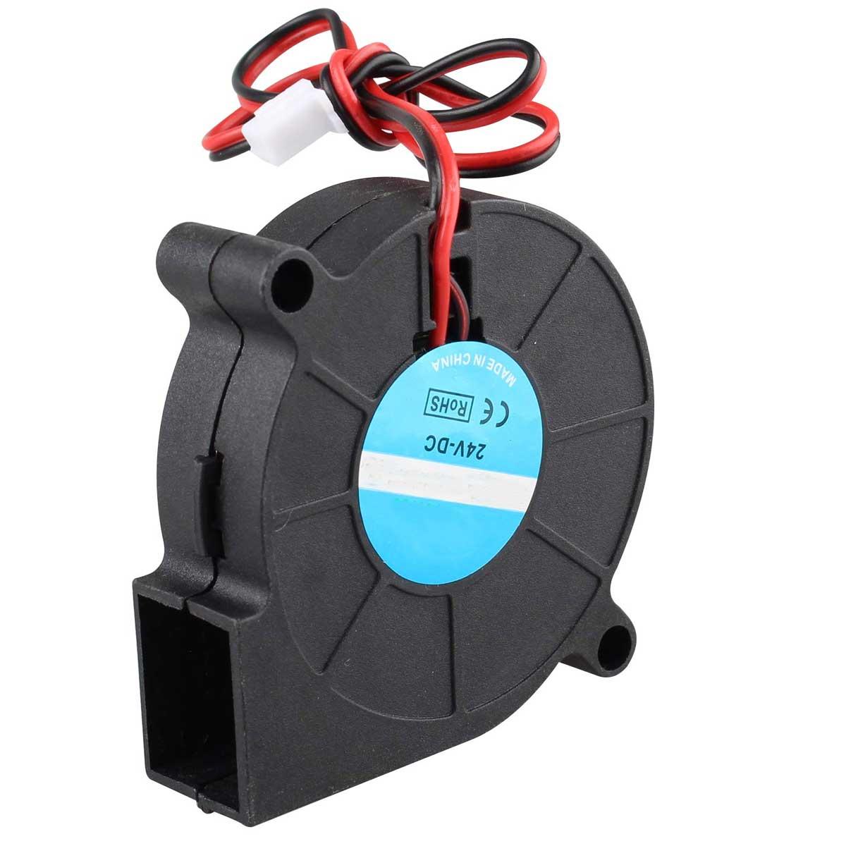 Cooler / Turbina / Ventilador 12v Radial 5015 Hotend para impressora 3D