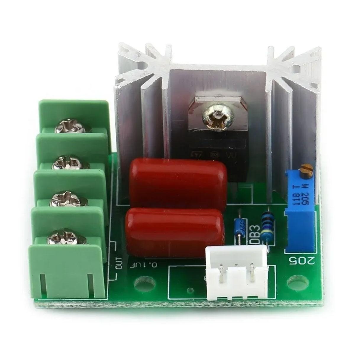 Dimmer Regulador de Velocidade 2000w 220V AC