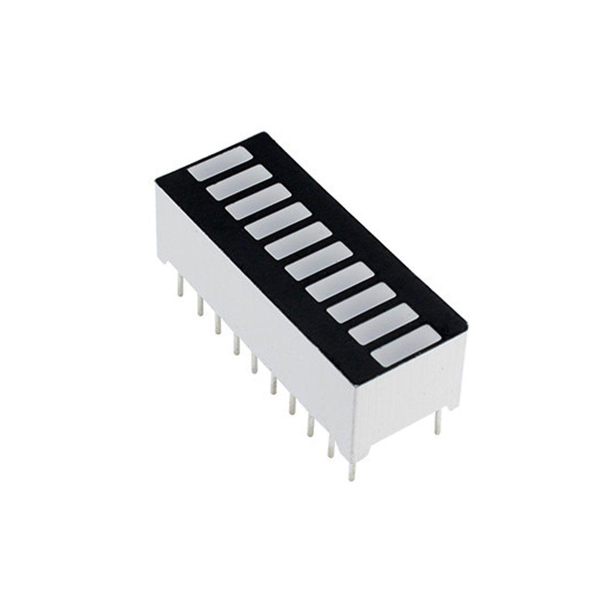 Display Bar Graph / Barra de Progresso com 4 cores 10 segmentos - Comum