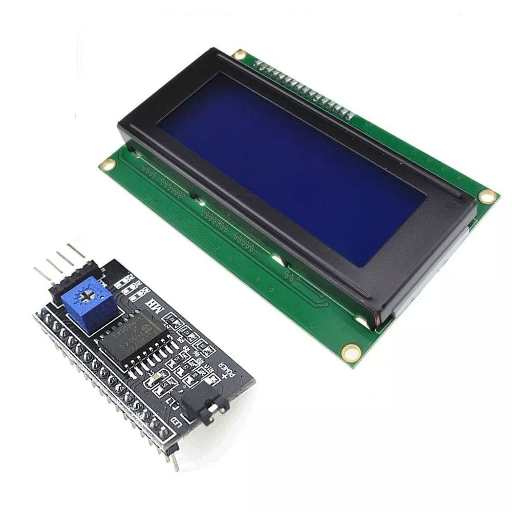 Display LCD Azul 20x4 + Módulo I2c Serial